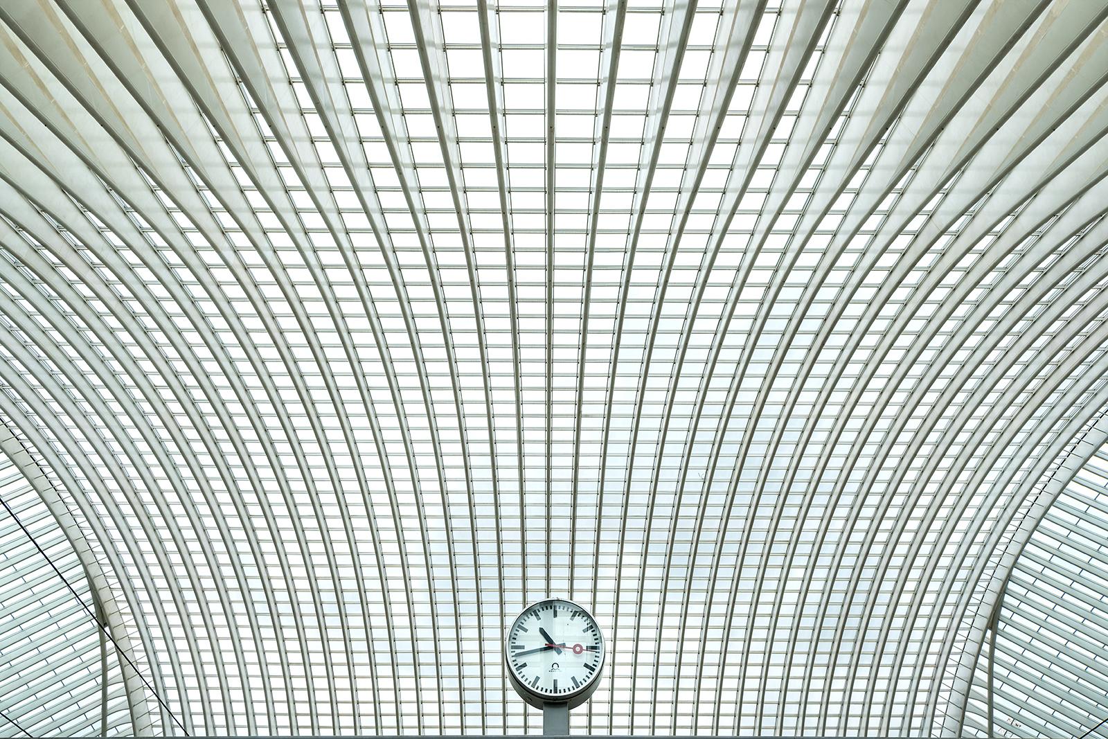 nádraží Lutych od Calatrava